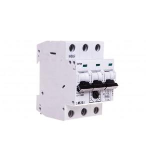 Wyłącznik silnikowy 3P 4kW 6,3-10A Z-MS-10/3 248411