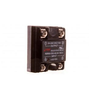 Przekaźnik półprzewodnikowy 1P 24-280VAC/10A Uster  4-32V DC RSR50-D32-A0-24-100-0 2612012