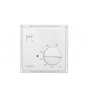Termostat 230V 10A 5-30C IP30 biały EK051