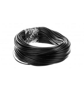 Przewód płaski H03VVH2-F (OMYp) 2x0,5 czarny /100m