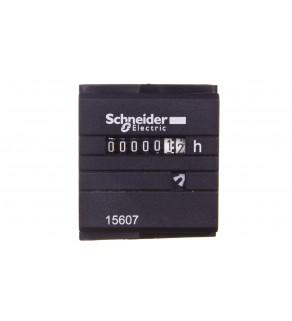 Licznik czasu pracy 24V AC 7(2) znaków analogowy pulpitowy 48x48mm CH 15607