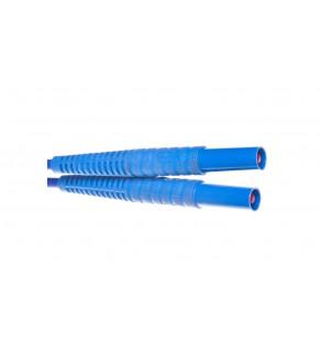Przewód pomiarowy 5m niebieski /wtyki bananowe/ WAPRZ005BUBB