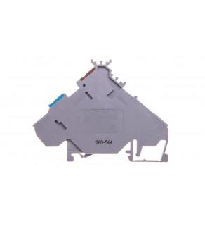 Złączka 0,08-2,5mm2 szary 20A DIN 35mm 280-564 /10szt.