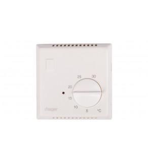 Regulator temperatury bimetalowy 230V 10A 5-30C IP30 biały EK053