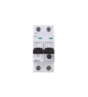 Wyłącznik silnikowy 2P 0,75kW 1,6-2,5A Z-MS-2,5/2 248395