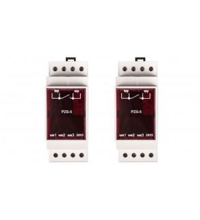 Przekaźnik zdalnego sterowania oświetlenia ulicznego 3-wejścia 230V AC PZS-5 RABB7012G2W7