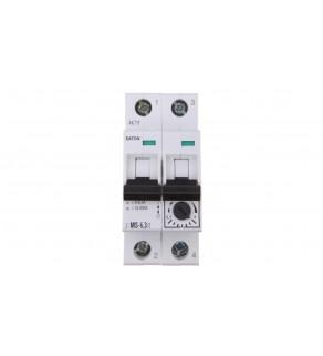 Wyłącznik silnikowy 2P 2,2kW 4-6,3A Z-MS-6,3/2 248397