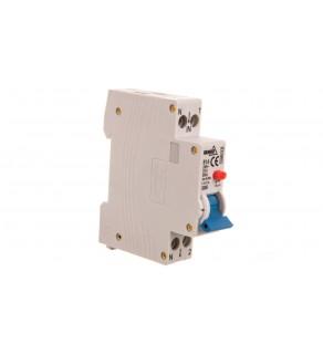 Wyłącznik różnicowoprądowy z członem nadprądowym 1P B 16A 30mA typ AC A07-SNR-AC-32-B16