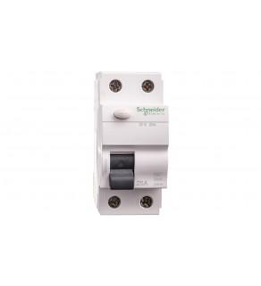 Wyłącznik różnicowoprądowy 2P 25A 0,03A typ AC ID K A9Z05225