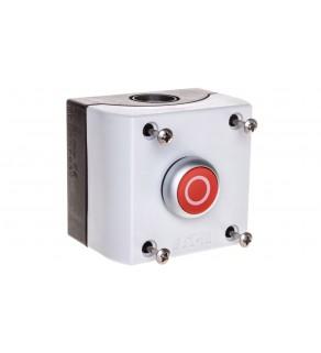 Kaseta z przyciskiem czerwonym /O/ 1Z 1R IP67 M22-D-R-X0/KC11/I 216521