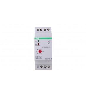 Przekaźnik kolejności, zaniku i asymetrii faz 10A 1P 4sek 40-80V CKF-BR