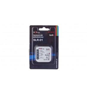 Sterownik LED jednokolorowy 0,22W 4A 10-14V DC IP20 SLR-01 LDX10000004