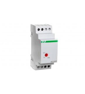 Automat schodowy z funkcją sygnalizacji wyłączenia oświetlenia i przeciwblokadą 10A 1Z 0,5-10min AS-222T