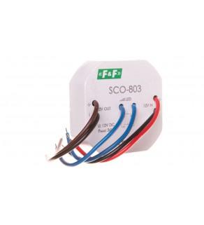 Ściemniacz LED 36W 12V DC z pamięcią (kapsułka fi55mm) SCO-803
