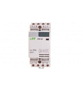 Stycznik modułowy 25A 4Z 0R 230V AC ST25-40