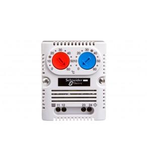 Termostat 10A 1Z 1R 250V 0-60C NSYCCOTHD