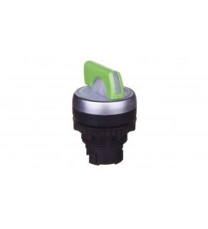 Główka obrotowa (manetka) podświetlana zielona 2 pozycje stabilne Osmoz 024032