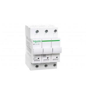 Rozłącznik bezpiecznikowy cylindryczny 3P 10x38mm STI A9N15656