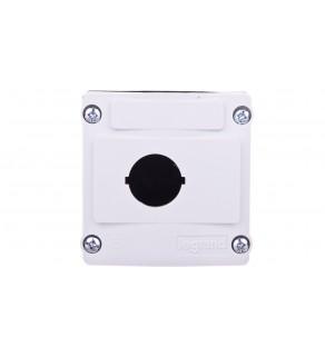 Obudowa kasety 1-otworowa 22mm szara IP66 024200