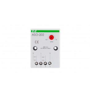 Automat schodowy z przeciwblokadą 16A 0,5-10min 230V AC ASO-202