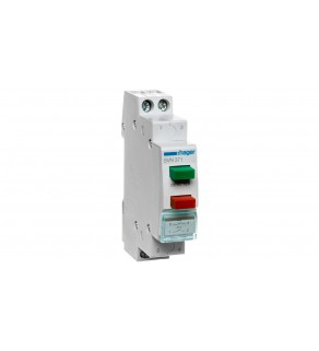 Przełącznik przyciskowy podwójny 16A 2Z zielono-czerwony SVN371