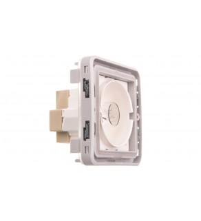 PLEXO55 Sygnalizator szary / biały 069583