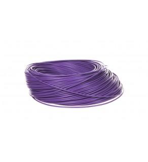 Przewód instalacyjny H05V-K 0,5 fioletowy 29088 /100m