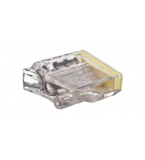Szybkozłączka 4x1,5-2,5mm2 transparentna PC2254-CL 89023000 /100szt.