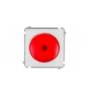 Simon Classic Sygnalizator świetlny LED światło czerwone biały MSS/2.01/11