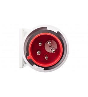 Wtyczka tablicowa (zwrotnica faz) 32A 5P 400V czerwona IP67 TWIST 778252-6