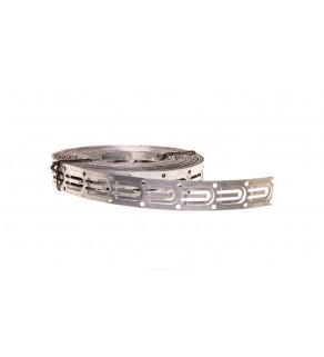 Taśma montażowa 21x0,5mm ze stali cynkowanej do przewodów grzejnych TMS-01 /7,5mb/ MTC10000037