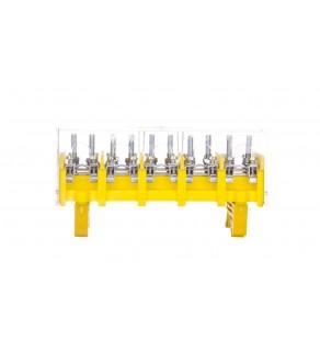 Odgałęźnik instalacyjny 5P (zacisk: 5x2x25mm2 - 5x4x10mm2) LZ5x25/10 wyk.22P 84095004