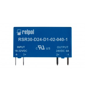 Przekaźnik półprzewodnikowy 1P 24VDC/2A Ustre  18-32V DC RSR30-D24-D1-02-040-1 2611997