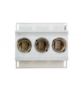 Gniazdo bezpiecznikowe na szynę 3P 63A D02 400V DIN D0 3268/3 VR D02/E18 LD02K63-3SS