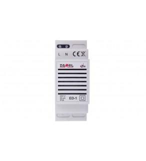 Dzwonek przyzywowy 230V AC 85dB IP20 ED-1 EXT10000025