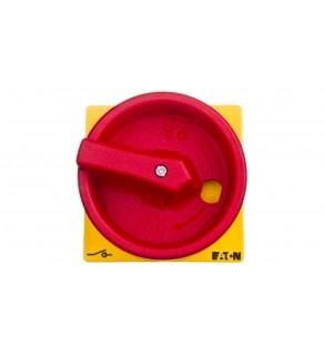 Pokrętło żółto-czerwone na kłódkę do T0, T3 i P1 SVB-T0 057892