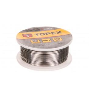 Lut cynowy 60 Sn drut 1,0mm 100g 44E514