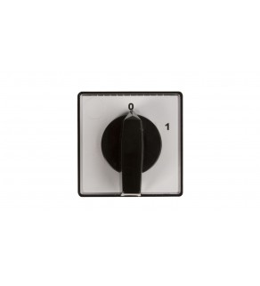 Łącznik krzywkowy 0-1 2P 10A do wbudowania 4G10-91-U 63-840393-011