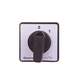 Łącznik krzywkowy 0-1 1P 10A do wbudowania SK10-1.825P03