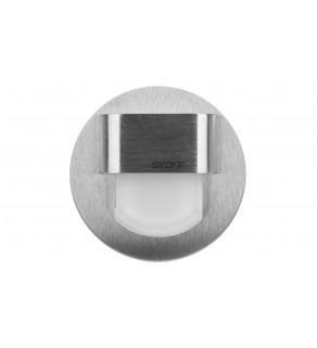 Oprawa LED RUEDA mini K(szlif) / WW (ciepły biały) INOX IP56