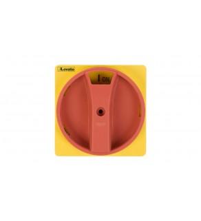 Pokrętło do drzwi żółto-czerwone z blokadą do GA..A, GA..C i GA..D GAX61