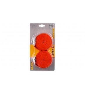 Pas do bagażu 5m x 25mm pomarańczowy 97X184 /2szt.