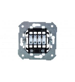 Simon 82 Gniazdo głośnikowe pojedyncze/ podwójne z 4 zaciskami mechanizm 75801-39
