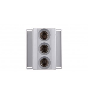 Gniazdo bezpiecznikowe na szynę 3P 16A D01 400V DIN D01N/3-K E14 002221021