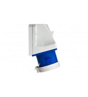 Wtyczka odbiornikowa z zatyczką 32A 3P 230V niebieska IP44 523-6t