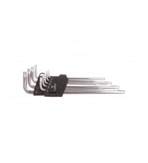 Klucze Torx T10-T50 35D961 /zestaw 9 szt.