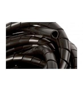 Wężyk ochronny spiralny WSN 12/S czarny E01WS-01010200500 /10m