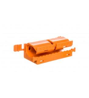 Adapter montażowy pomarańczowy DIN 35mm 222-500 /10szt.