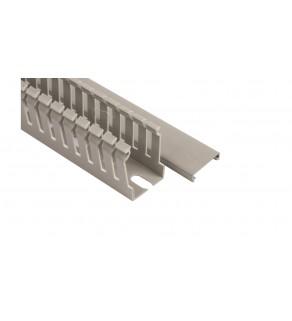 Korytko grzebieniowe 25x40 szare ECS2540 /2m