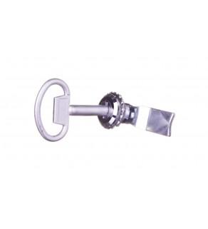 Wkładka zamka piórkowa /płetwa/ z kluczem ZMRN-W R30RS-04010002100